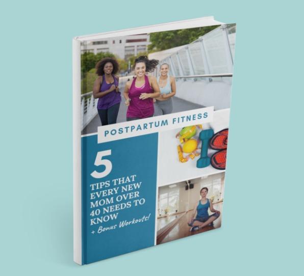eBook Cover-Postpartum Fitness