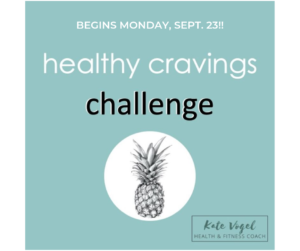 Promotion for free Healthy Cravings Challenge beginning September 23.