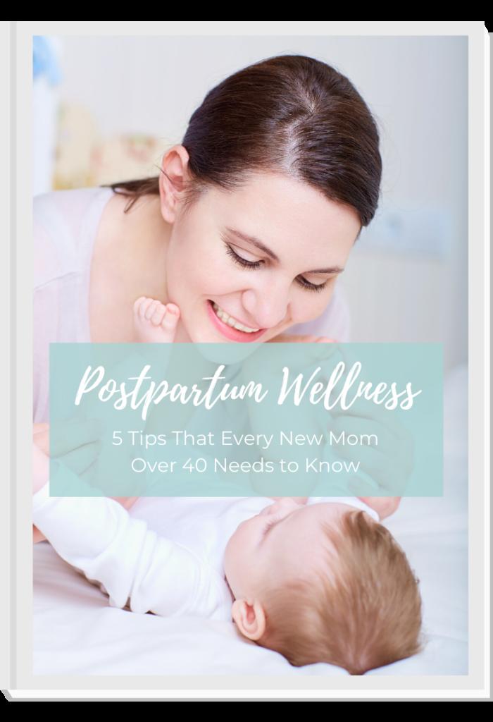 ebook Cover Postpartum Wellness
