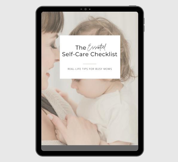 the essential self-care checklist
