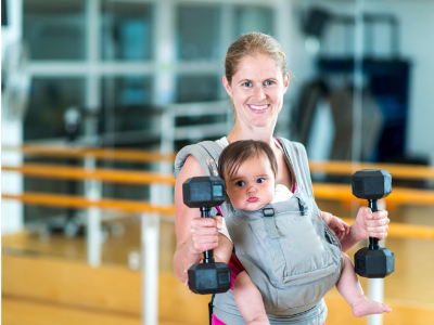 postpartum strength training