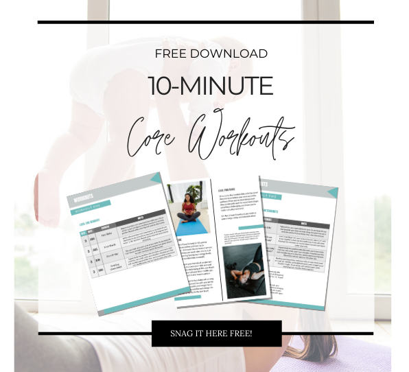 10 MInute Core WOrkouts free download